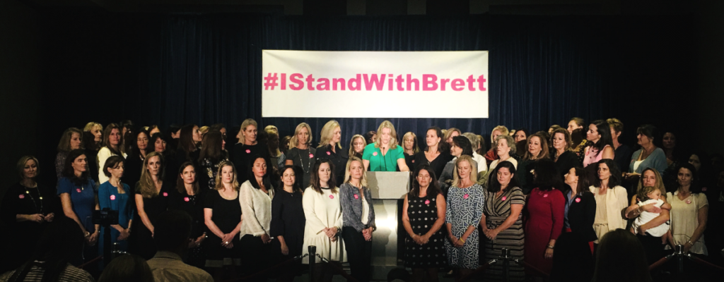 #IStandWithBrett: 87 Long-Time Female Friends & Colleagues Stand Up For Kavanaugh